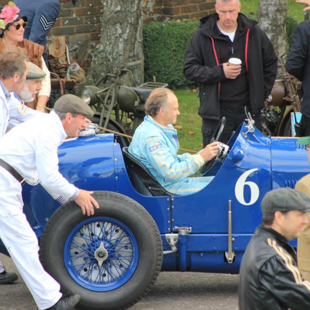 """""""1930s Racing Car"""" stock image"""