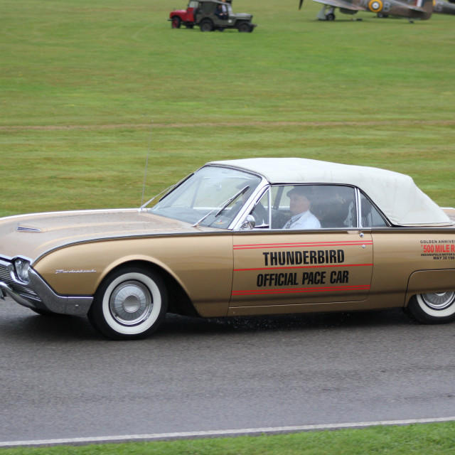 """""""1950s Classic Car, Goodwood Revival, 2017"""" stock image"""
