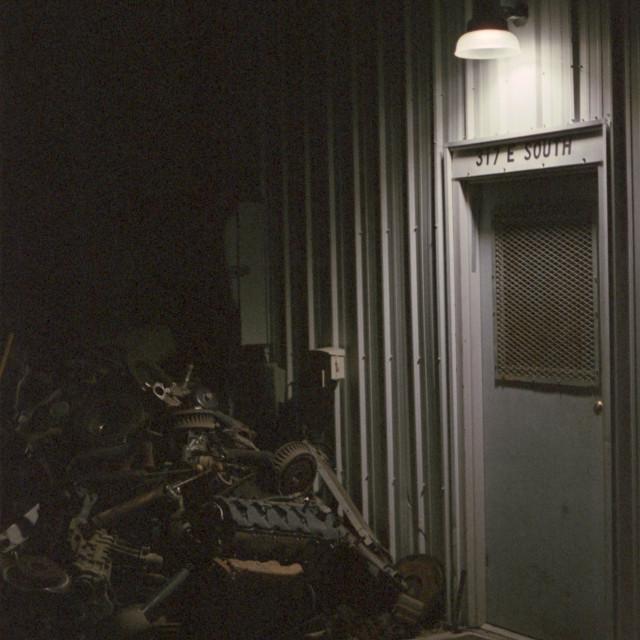 """""""Doorway to Mechanic"""" stock image"""