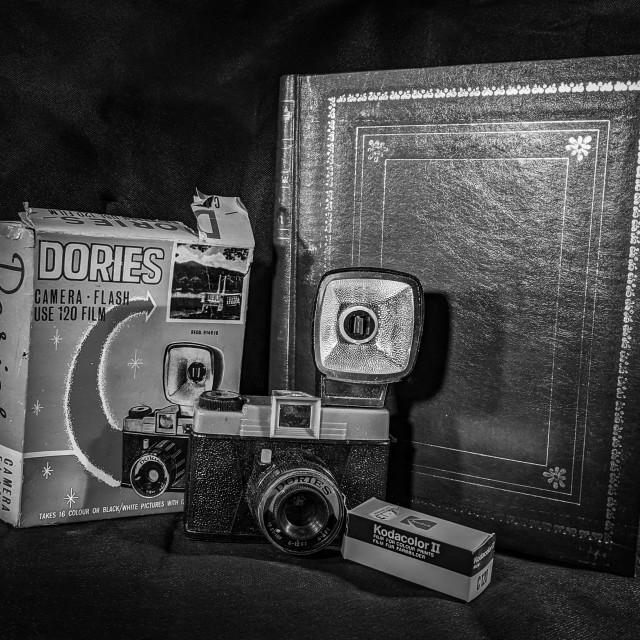 """Sixties camera"" stock image"