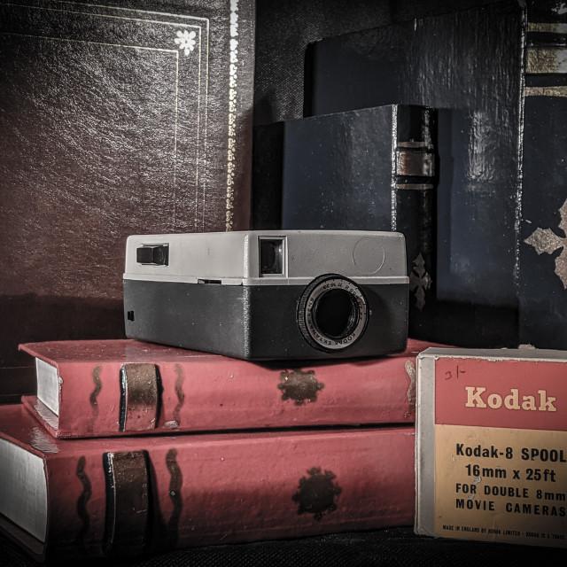 """Vintage video camera"" stock image"