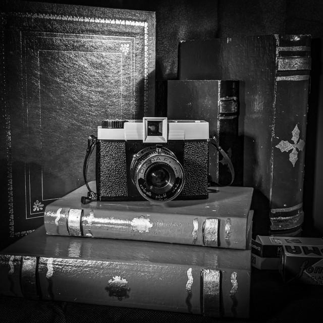 """Retro camera"" stock image"
