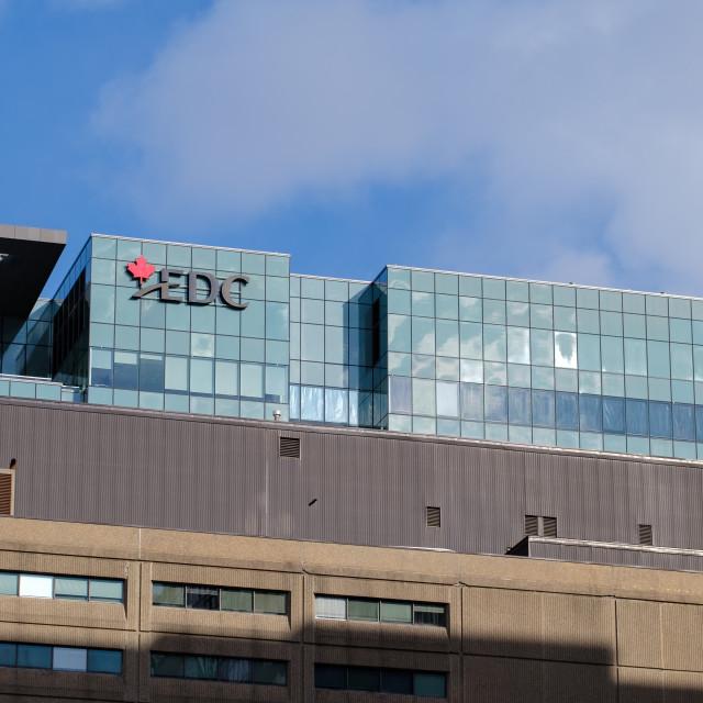 """Export Development Canada (EDC) HQ in Ottawa"" stock image"