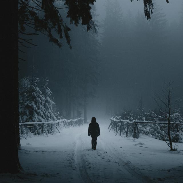 """Nordic thriller"" stock image"