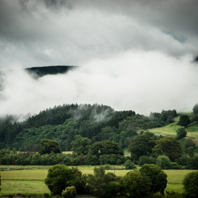 """Speyside, Scotland (Ben Aigen)"" stock image"