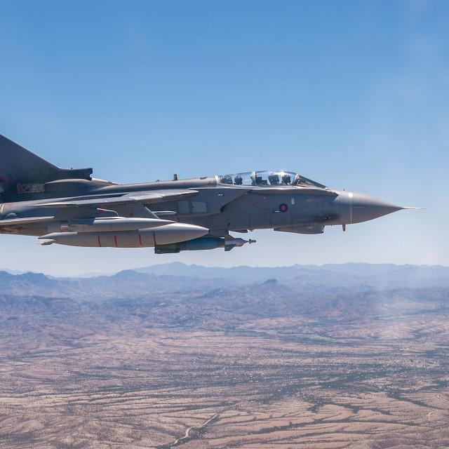 """Tornado GR4 Arizona Desert"" stock image"