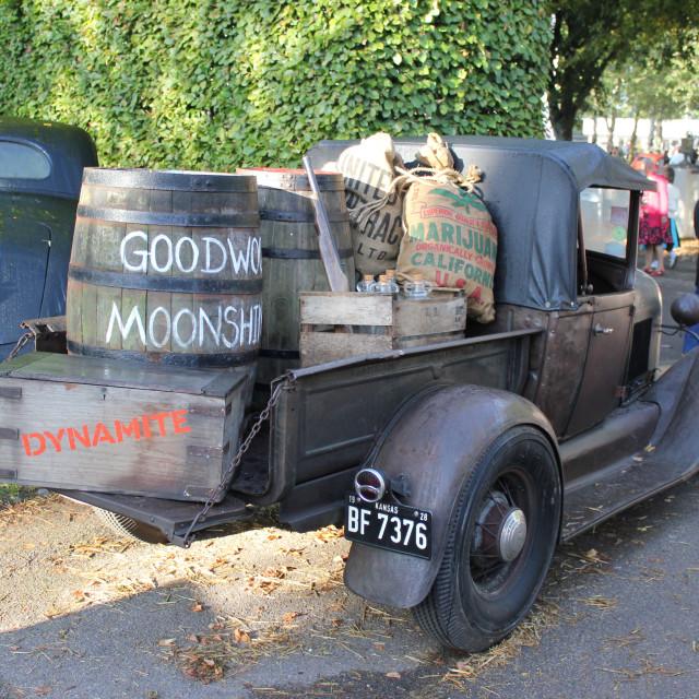"""Mooshine Truck"" stock image"