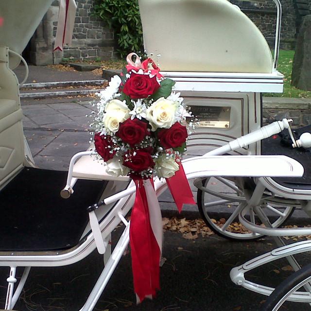 """Wedding Flowers Summer 2010"" stock image"