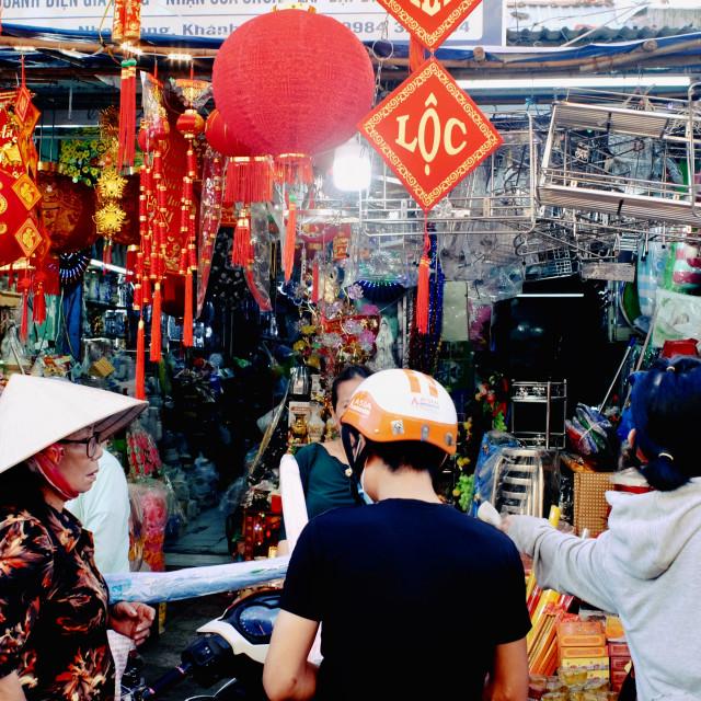 """Tet- Lunar New Year"" stock image"