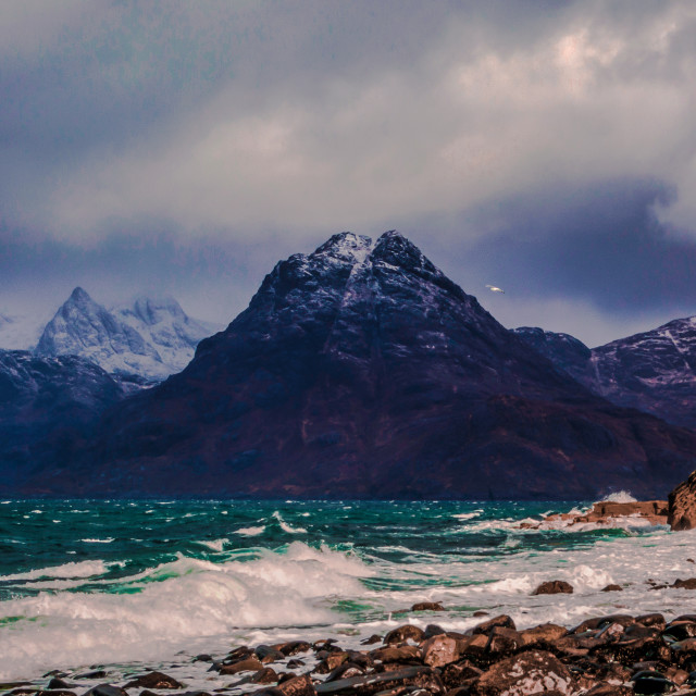 """""""Elgol in Colour"""" stock image"""