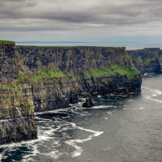 """""""Cliffs of Moher, Ireland"""" stock image"""