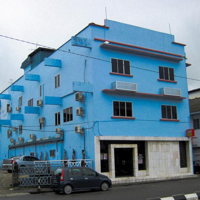 """""""Kuching Blue Placer"""" stock image"""