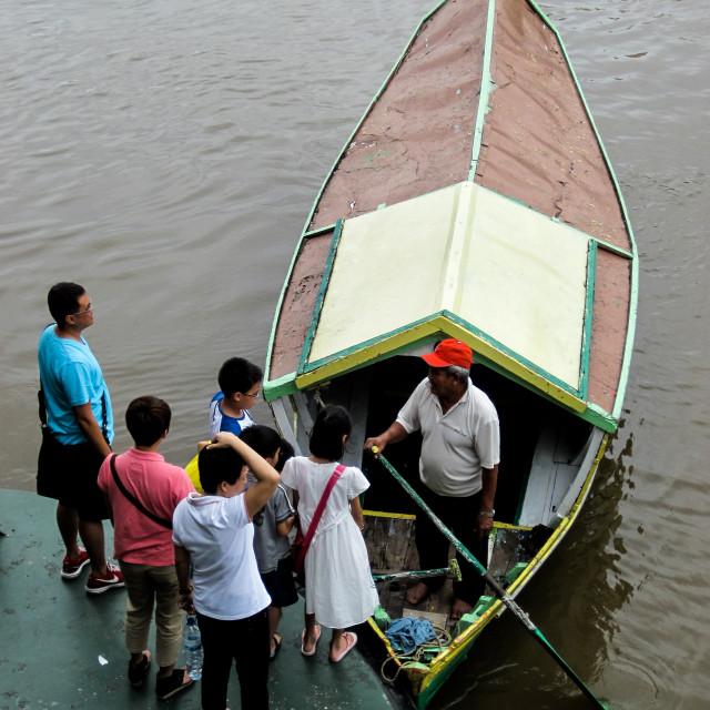 """Kuching Boat Taki 3"" stock image"