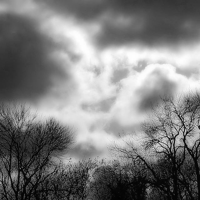 """""""Stormy Skies"""" stock image"""
