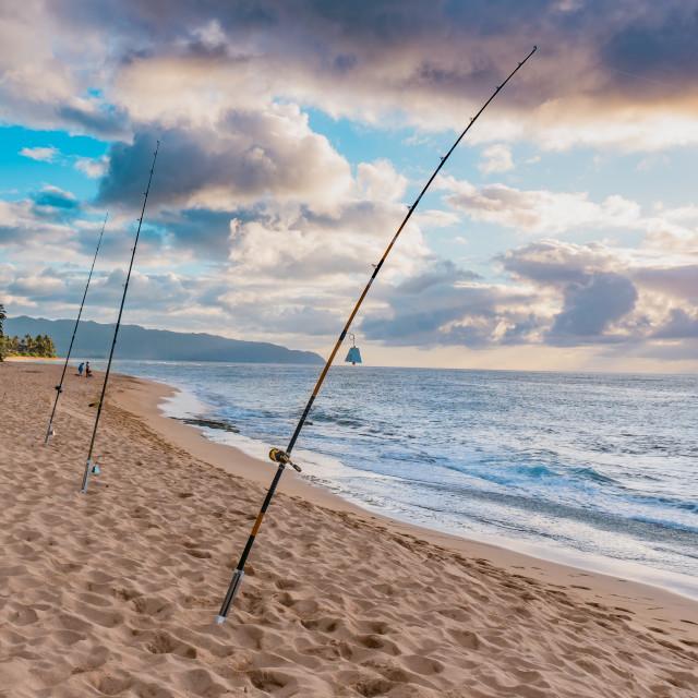 """Oahu North Shore"" stock image"