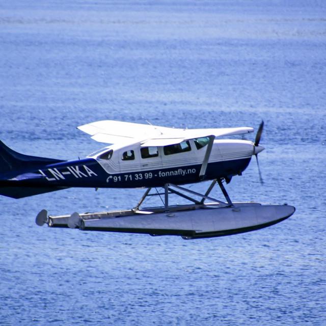 """""""Seaplane"""" stock image"""
