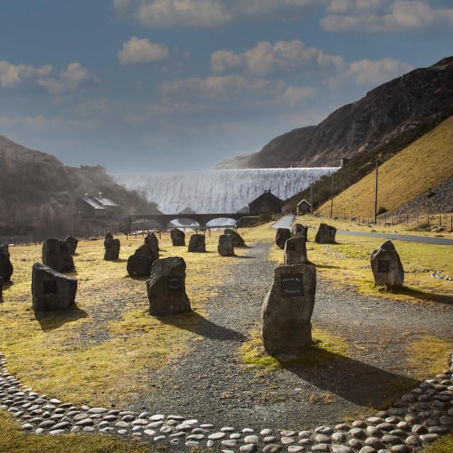 """""""Elan Dam"""" stock image"""