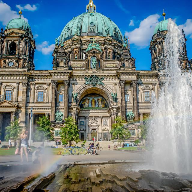 """Berliner Dom, Berlin, Germany"" stock image"