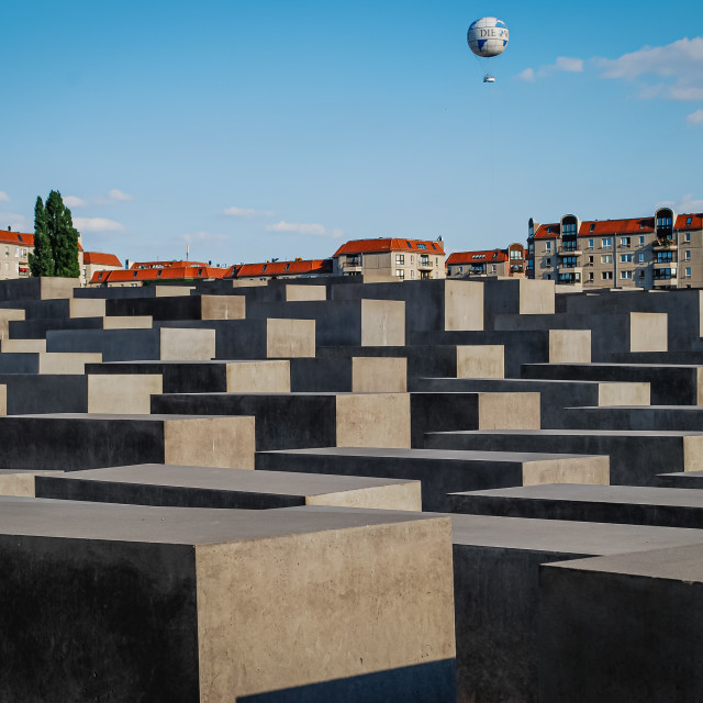 """Holocaust Memorial, Berlin, Germany"" stock image"