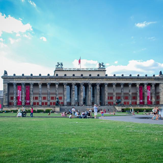 """Altes Museum, Berlin, Germany"" stock image"