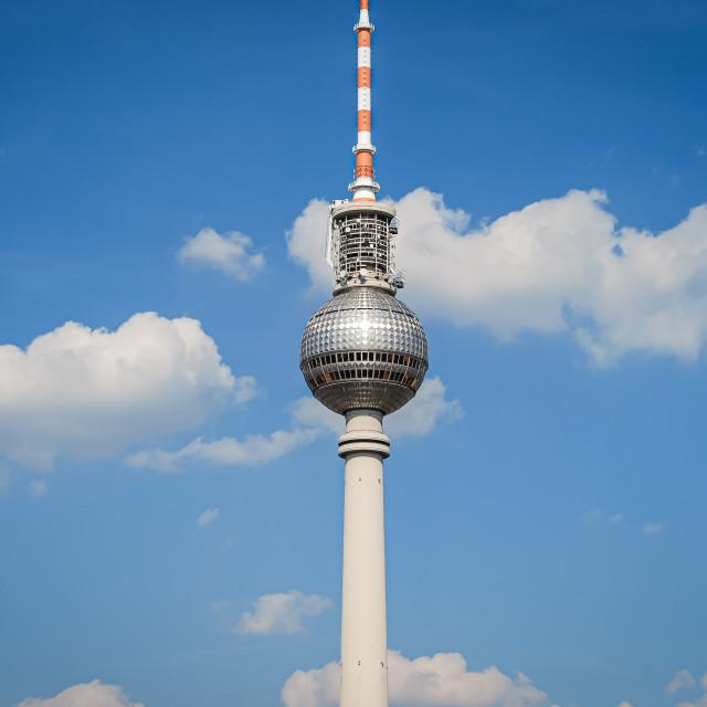 """TV Tower Berlin, Berlin, Germany"" stock image"