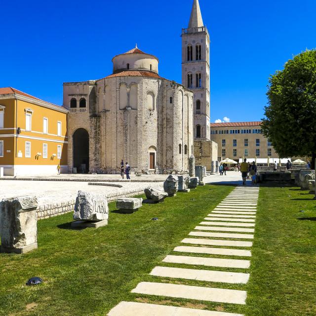 """""""Zadar"""" stock image"""