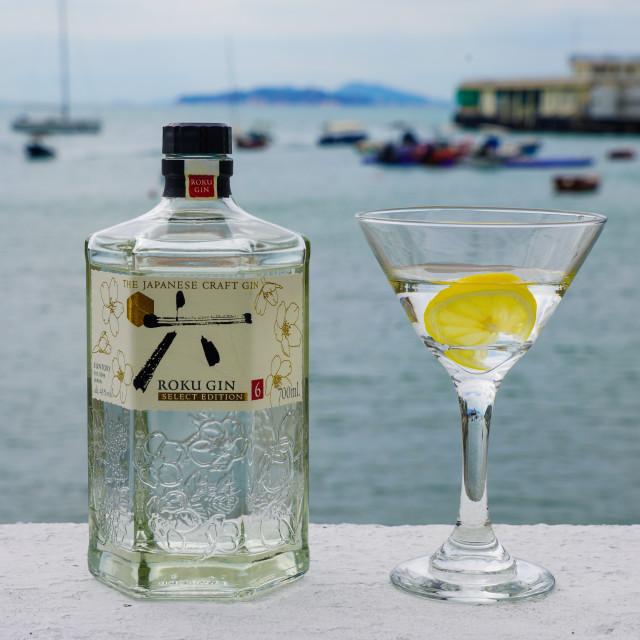 """""""Gin O'Clock"""" stock image"""