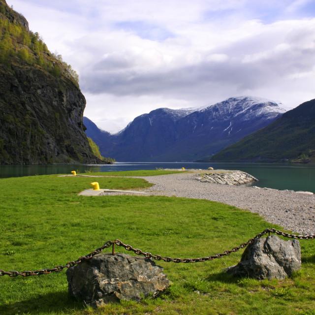 """Sognerfjord, Norway"" stock image"