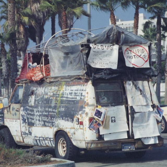 """Analog - Los Angeles -"" stock image"