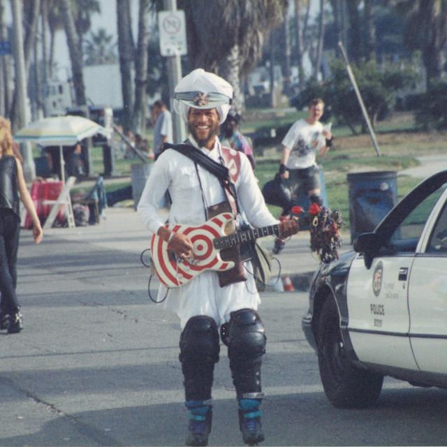 """""""Analog - Los Angeles - Venice Beach"""" stock image"""