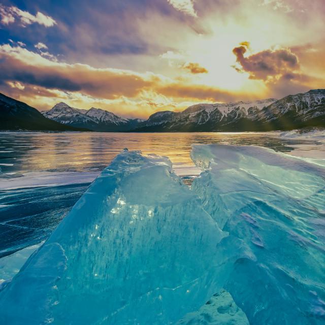 """Ice & Fire"" stock image"