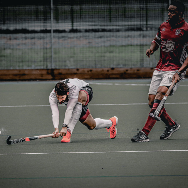 """Brombeck Hc VS Bedford Hc - October 2019"" stock image"