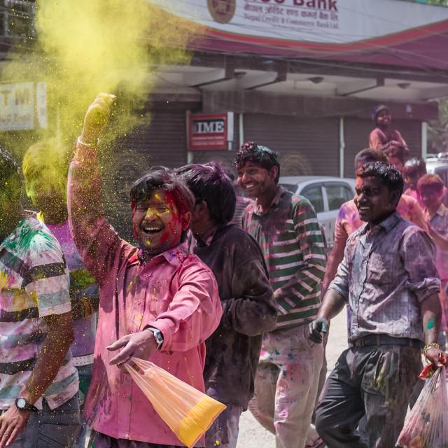 """Happy Holi!"" stock image"