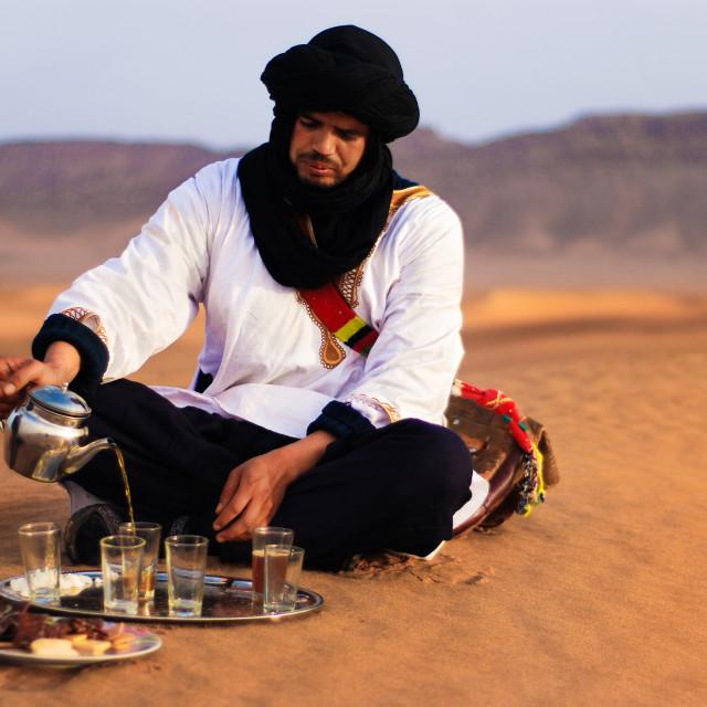 """Hussein the Berber"" stock image"