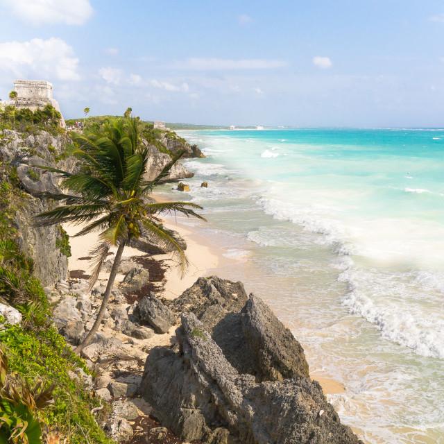 """Mayan turquoise"" stock image"
