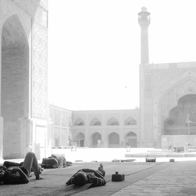 """""""Masjid-e-Jāmeh"""" stock image"""