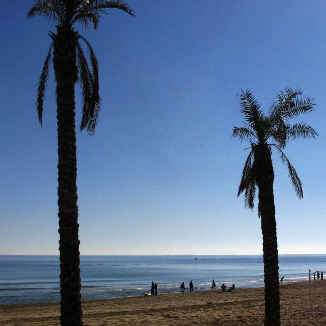 """Guardamar Beach"" stock image"
