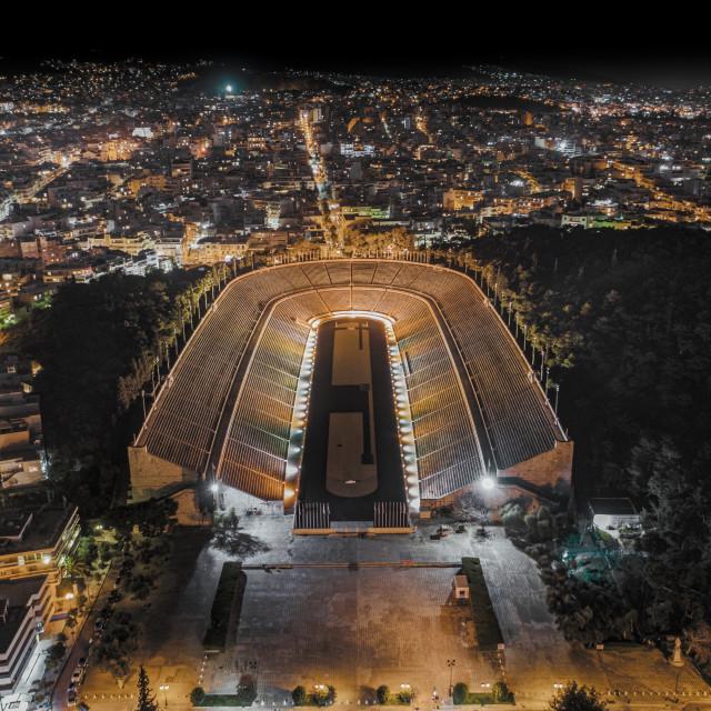 """""""Panathenaic Stadium"""" stock image"""