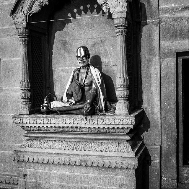 """Baba Varanasi"" stock image"