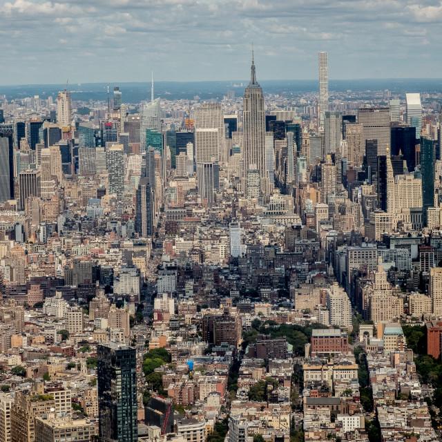 """Manhattan View"" stock image"