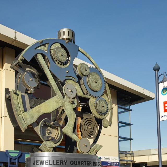 """Birmingham Jewellery Quarter"" stock image"