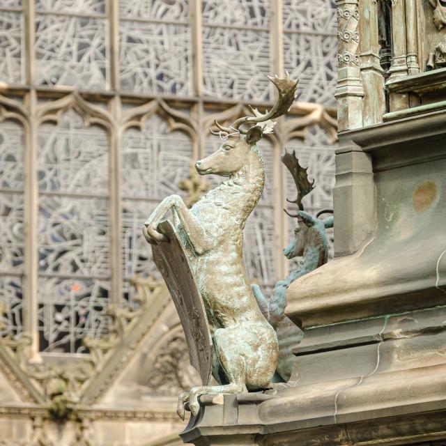 """St Giles Cathedral, Edinburgh"" stock image"