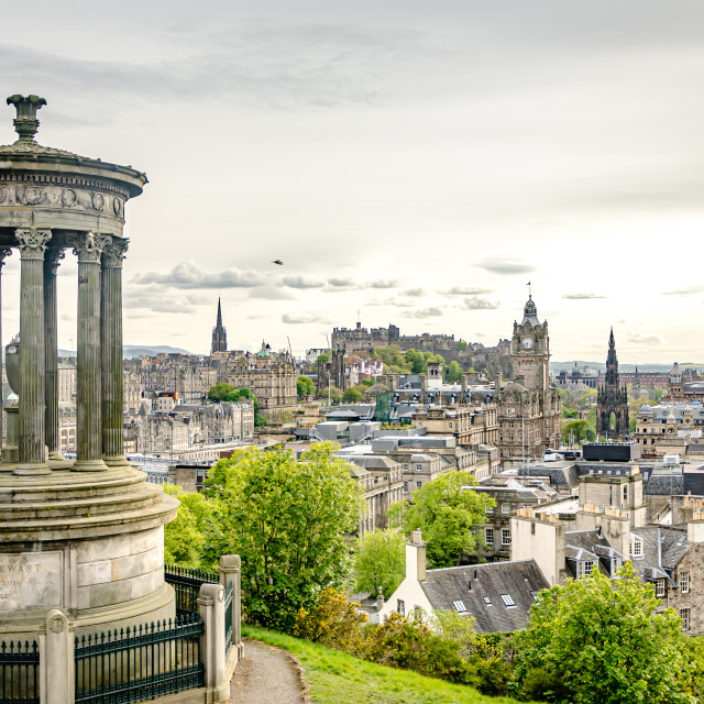 """Carlton Hill, Edinburgh"" stock image"