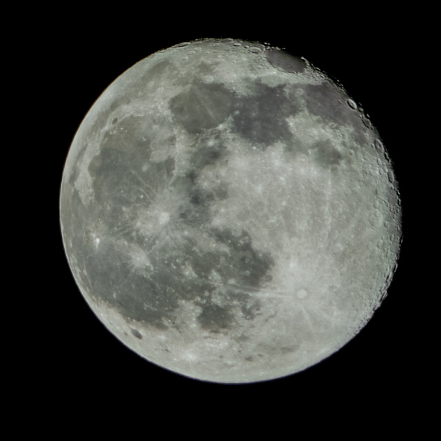 """The Full Moon"" stock image"