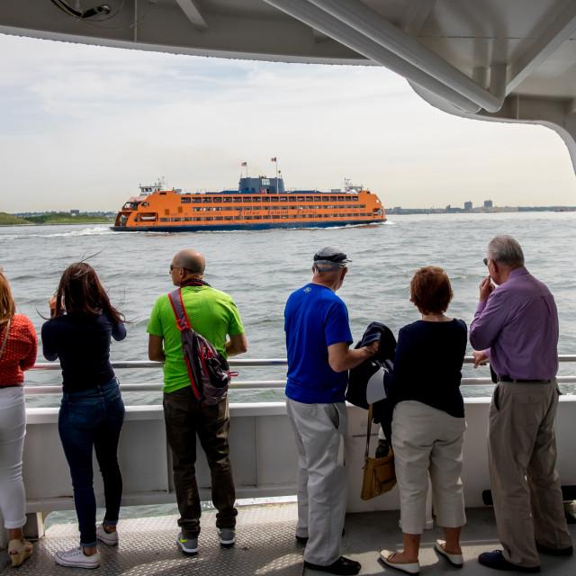 """Staten Island Ferry."" stock image"