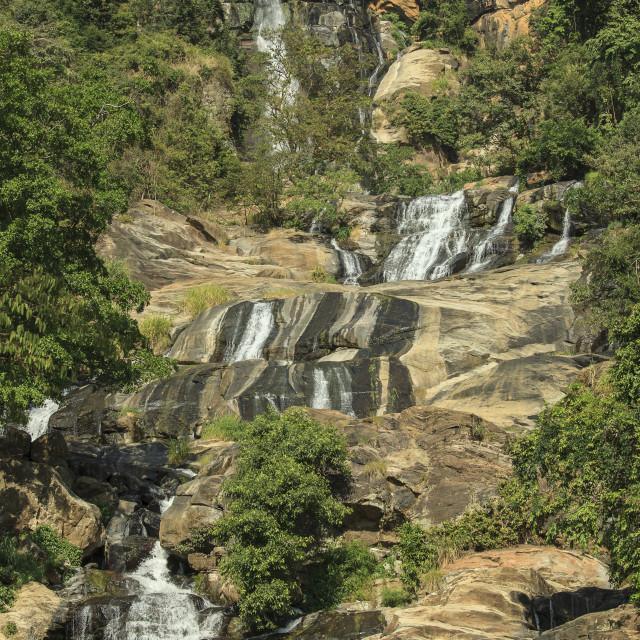 """Rawana Falls"" stock image"