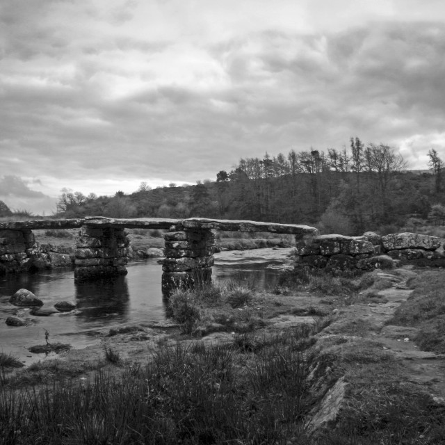 """""""Clapper Bridge"""" stock image"""