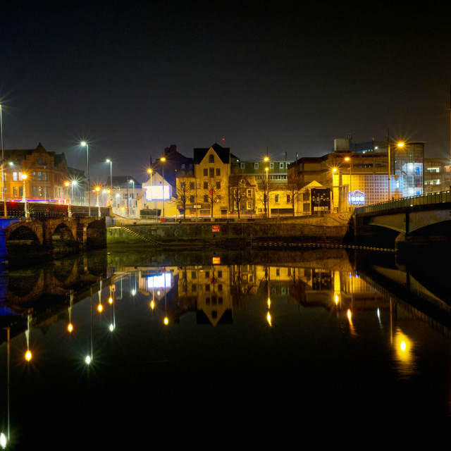 """""""Donegall Quay Belfast"""" stock image"""