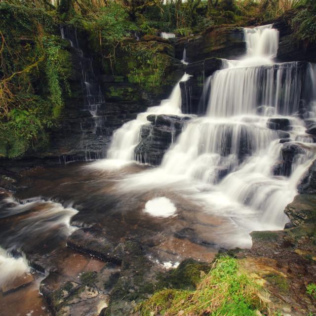 """Boho waterfall"" stock image"