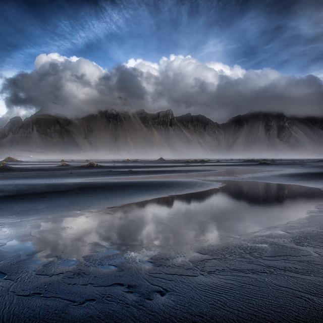 """Vestrahorn Iceland"" stock image"